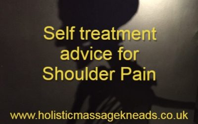 Self-help advice for shoulder pain