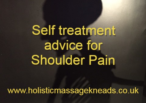 self treatment advice for shoulder girdle pain