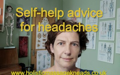 Self-help advice for headaches